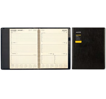 2020 A41 Platinum Plus Diary, Black