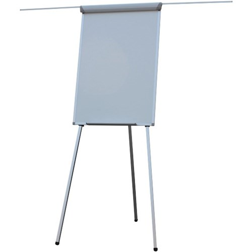 Lacquered Steel Flipchart, telescopic legs 600x900
