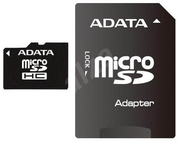 Adata Class 4 Micro SDHC Card 8GB with Adapter