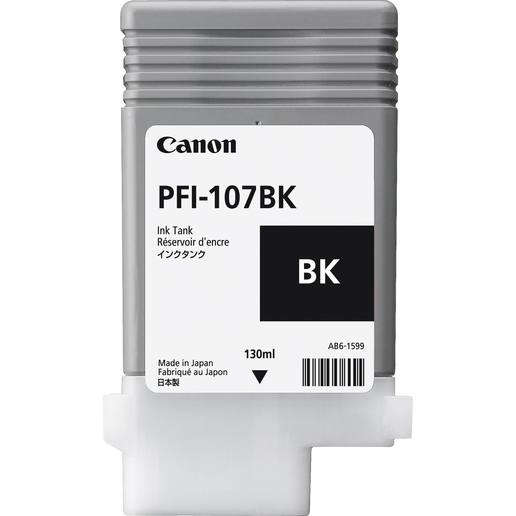 Black Canon PFI-107BK Ink Cartridge
