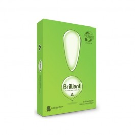 BRILLIANT A4 WHITE COPY PAPER - Direct Ship
